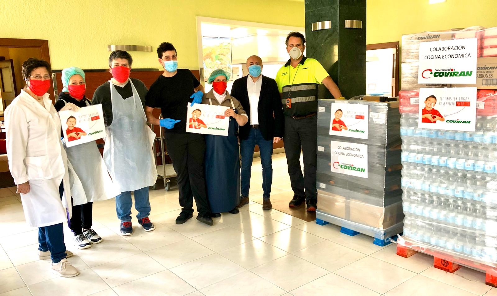 Covirán dona alimentos para la Asociación Benéfica Cocina Económica de Oviedo
